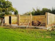 Cart lodge timber frame